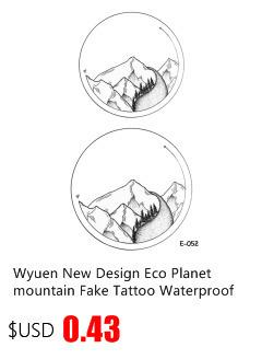 2017NEW Hot Design Temporary Tattoo for Adult Waterproof Tatoo Sticker Body Art Watercolor Butterfly A-065 Fake Tattoo Man Woman