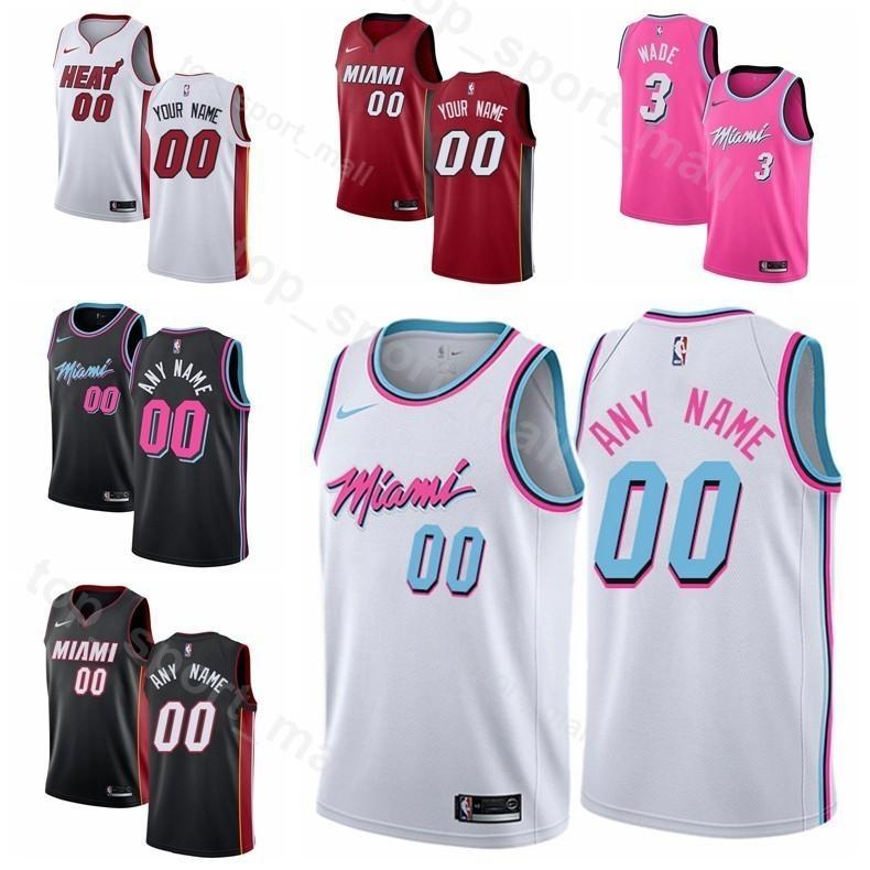 Man Kids Woman Miami Printed Heat Basketball Dion Waiters Jersey 11 Kelly  Olynyk 9 Rodney McGruder 17 Bam Adebayo 13 James Johnson 16 UK 2019 From  Vip sport ... 597ac2f28