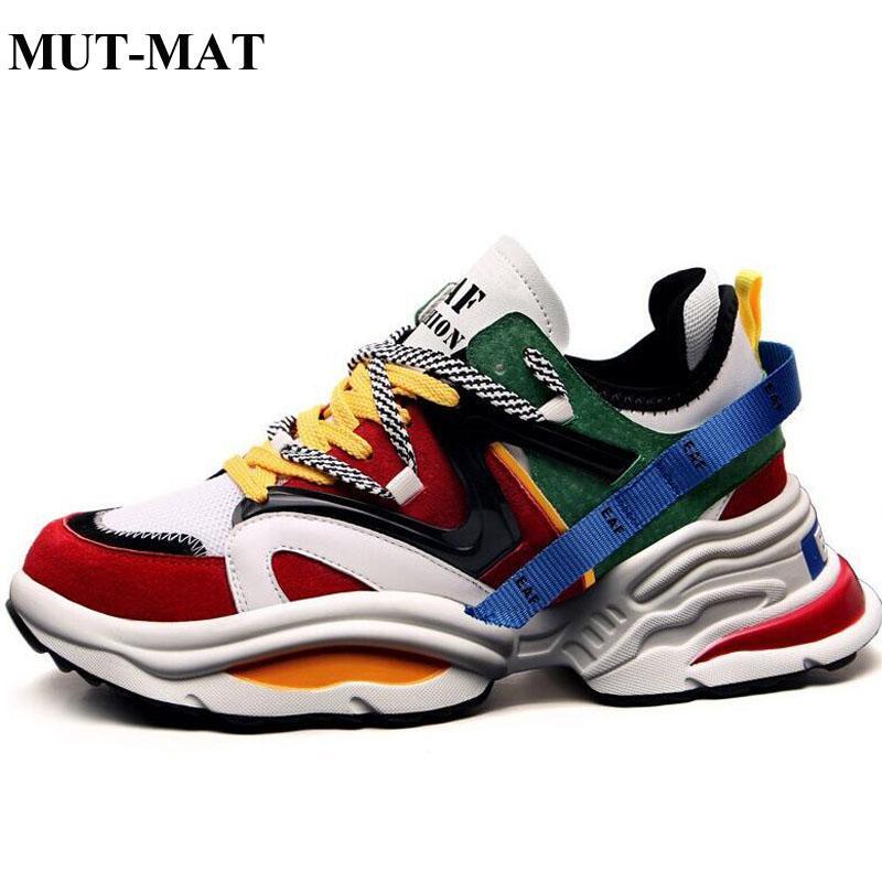 ac592f53fb 2019 nuovi uomini moda scarpe casual scarpe da ginnastica primavera alta  tendenza uomo scarpe comode uomini respirabili a piedi