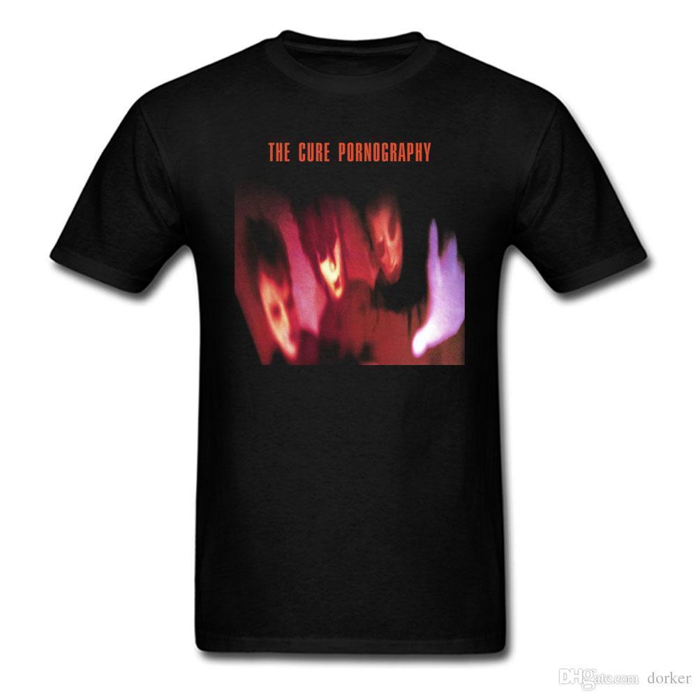 21d444f575c6ac DE CURE Pornografie T Shirt Mannen En Vrouwen Katoen Afdrukken Tee Maat S ~  XXXL T Shirt Online T Shirt Designer From Jie23, $14.67  DHgate.Com