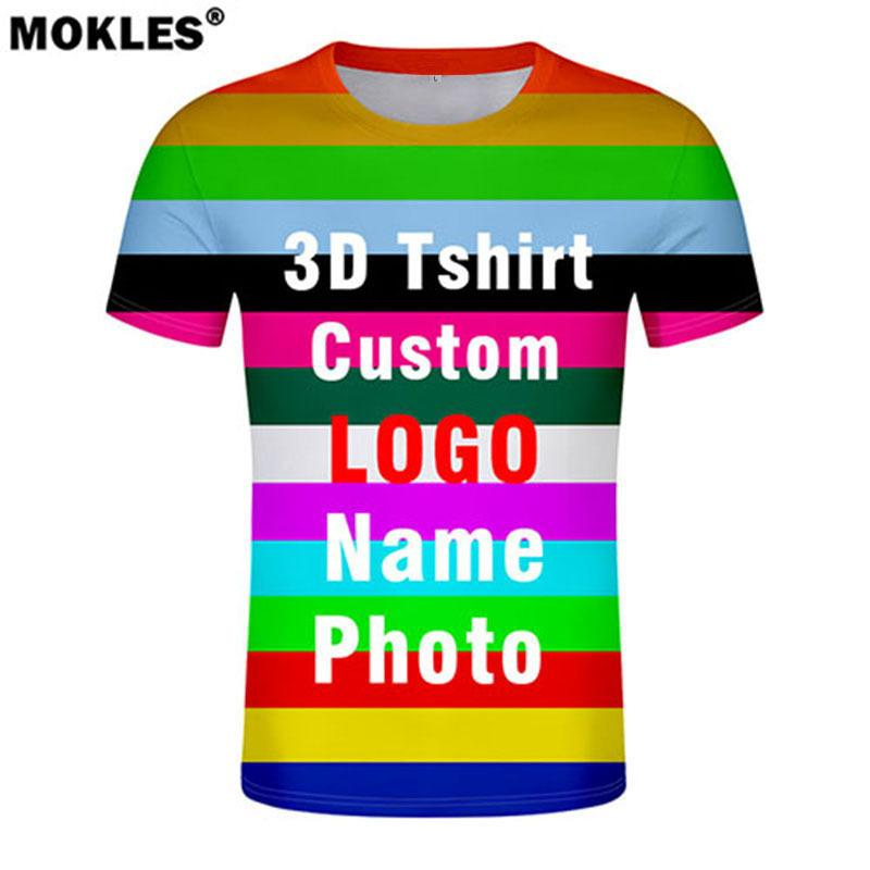 21cb38c2 3d T Shirt Free Custom Made Name Number Logo Text Photo T Shirt Nation  Flags Country College University Whole Body Print Clothes Q190404 One Day T  Shirt ...