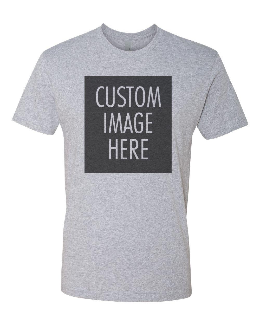 buy online 1082c 5e5d0 Kundenspezifisches T-Shirt mit Ihrem Foto | Text | Logo | Billige  kundenspezifische T-Shirts - Graues cattt Windjacke Pugt-shirt