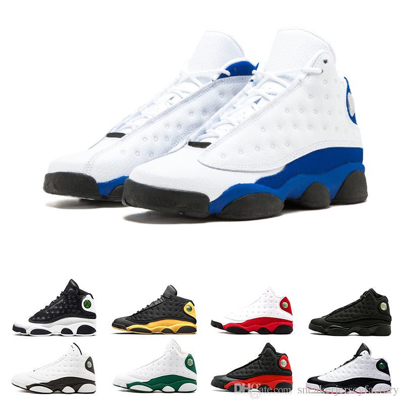 best sneakers ad1de 65933 Großhandel Laufschuhe 13s Traderjoes Basketballschuhe XIII Brown Flints Hyper  Royal Altitude Brachte Black SPORT Womens Sneakers Herren Trainergröße US 7  13 ...
