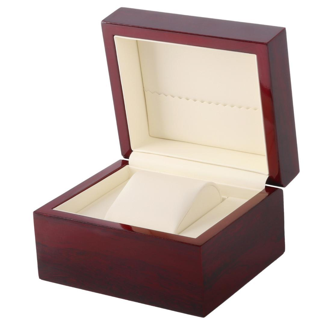 8aaae5e66 Single Watch Box Wooden Spray Paint Watch Pu Leather Red Box Watch Cases  For Women Large Watch Case From Desertrose