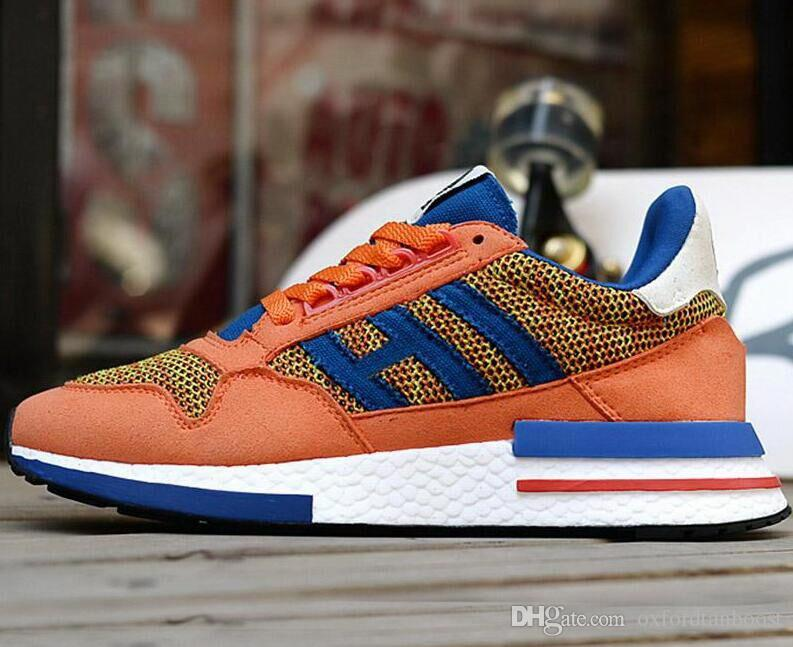 New ZX 500 RM Goku Men Sneakers D97046 ZX500 OG The Dragon Ball Z Grey  Women Jogging Shoes Size 36 45 East Bay Shoes Shop Shoes From  Oxfordtanboost e03225c33
