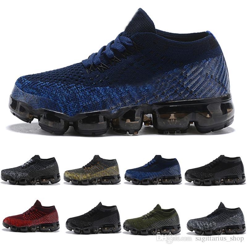 finest selection 2cedc 20672 Acheter Nike Air Max 2018 Air Knitting Vamp Portable Enfants Chaussures De Course  Enfants 2018 Chaussures De Sport Garçons Filles Sneakers De Formation De ...