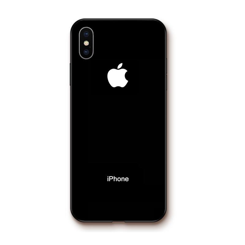coque iphone xr avec logo apple