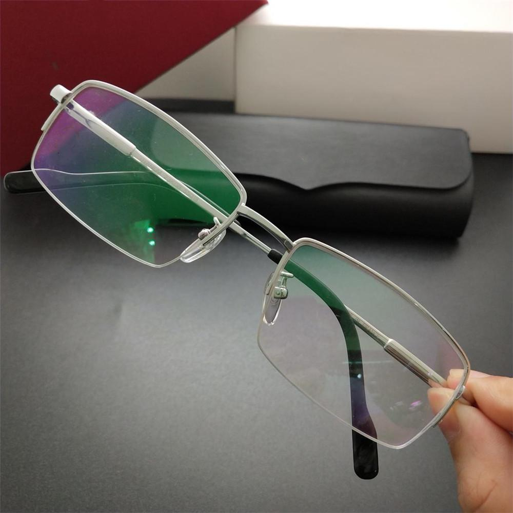 f1e474820d New Luxury Men Glasses High Quality Titanium Reading Eyewear for ...