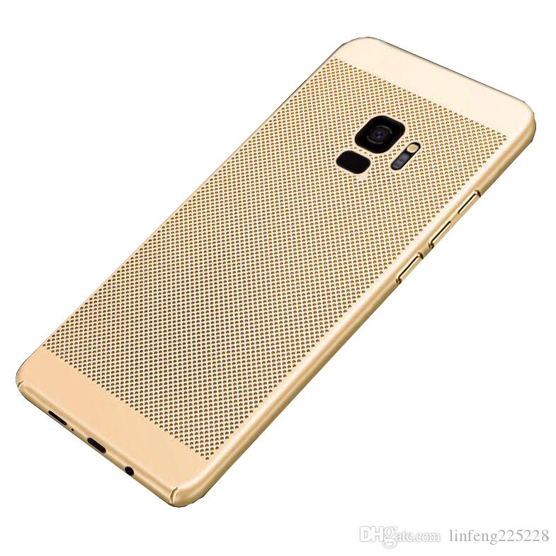 meet 18ecc 3d2d8 Hot TPU mobile phone case FOR Samsung Galaxy S4 S5 S6 S7 S8 S9 S10 Edge  Lite Plus Honeycomb breathable cooling anti-shock anti-shock