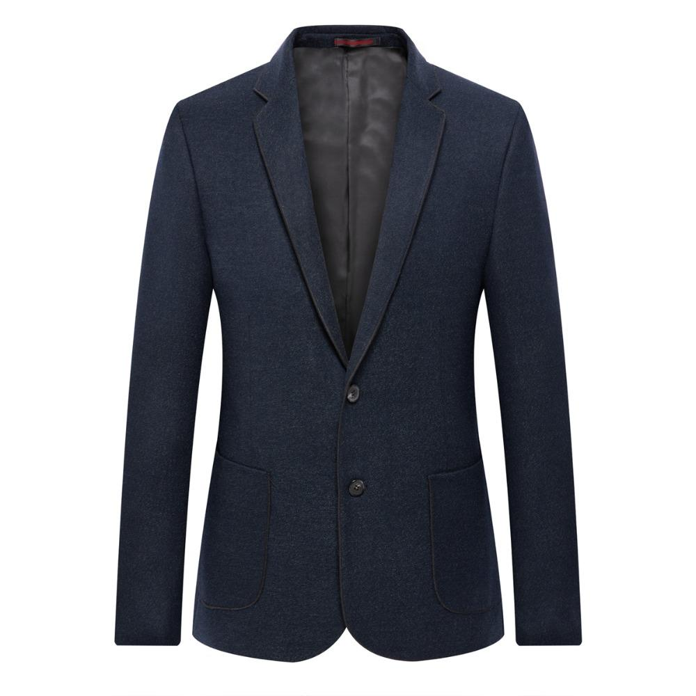 9ed7ece3ee 2019 WAEOLSA Elegance Man Slim Fit Blazer Navy Blue Suit Coat Men Smart Casual  Blazers Masculino Uniform Tailored Blazer Mens Couture From Lbdapparel