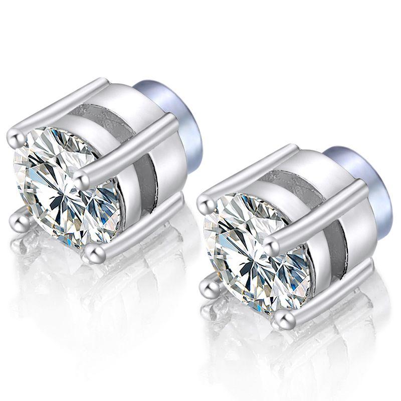 02965535c 2019 Stainless Steel Magnetic Stud Earrings Zircon Ear Jeweley For Men  Women Non Piercing Hypoallergenic Earrings 6mm From Ailsaqueen, $1.62 |  DHgate.Com