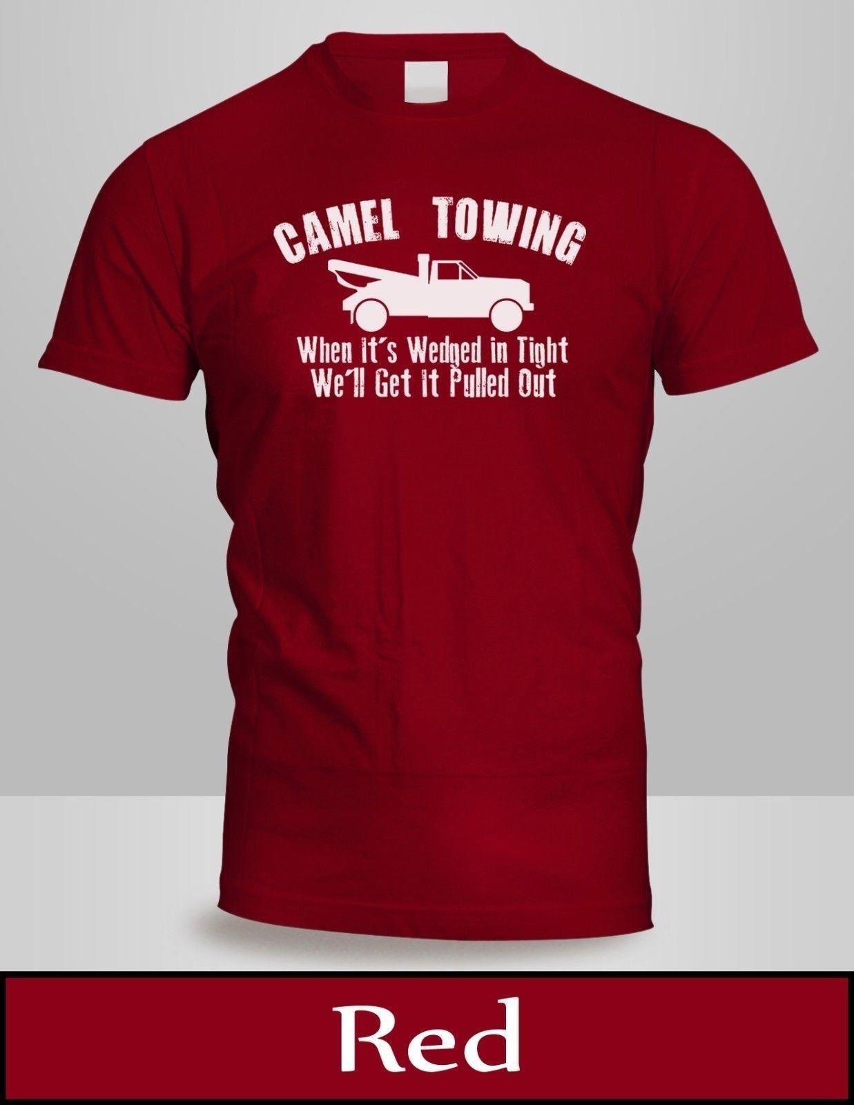 d2100b9db Camel Towing T Shirt Mens Top Red Tow Service Toe College Humor Cool Tee  New 3Funny Unisex Casual Tshirt Top T Shrt Fun T Shirt From Lazyfruit, ...