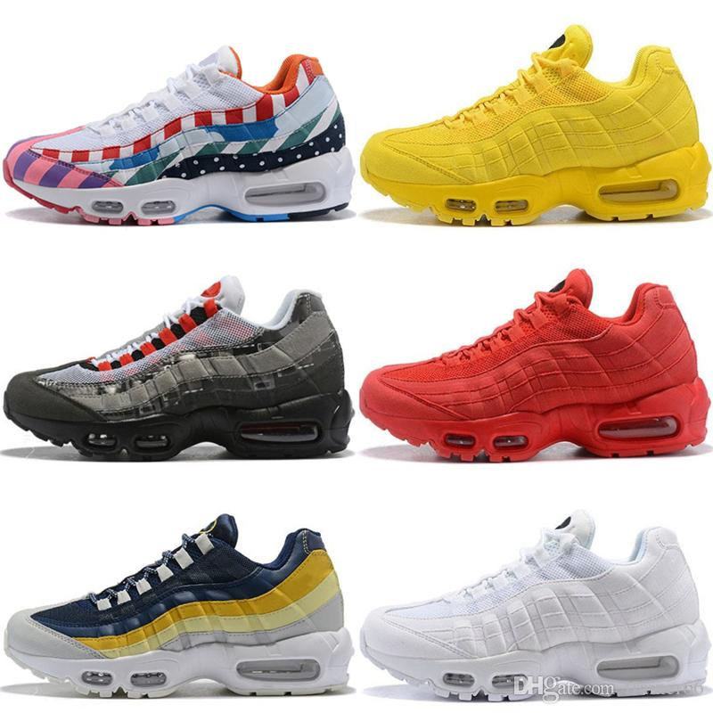 Ultra 20th Anniversary 95 OG Running Shoes For Men White Parra Red Yellow  Black TN 95s Trainers Sneakers Designer Shoes Sneakers 5.5-12 Basketball  Shoes ... ee116188c