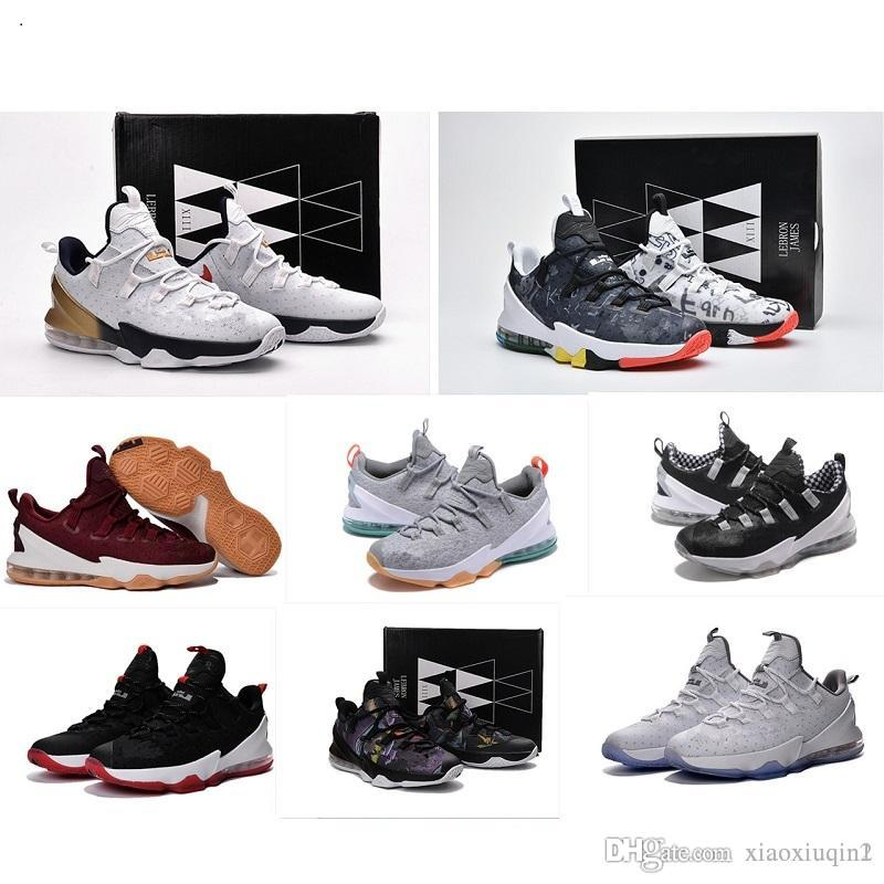 24b7c639ba18 2019 What The Lebron 13 Low Mens Basketball Shoes For Sale Lebrons MVP  Christmas BHM Easter Halloween Akronite DB Boots With Size 7 12 From  Xiaoxiuqin2
