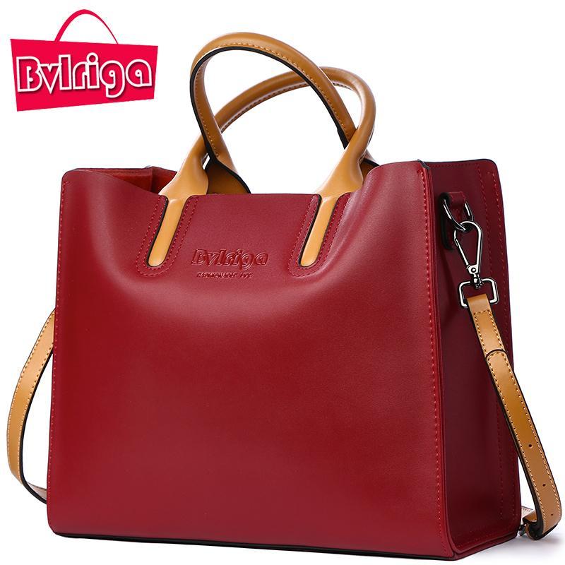 ff4b866e67 Acquista BVLRIGA Borse Di Lusso Borse Donna Designer Famose Marche Borsa In  Vera Pelle Femminile Crossbody Messenger Shoulder Bag Tote Bag Y1892708 A  ...