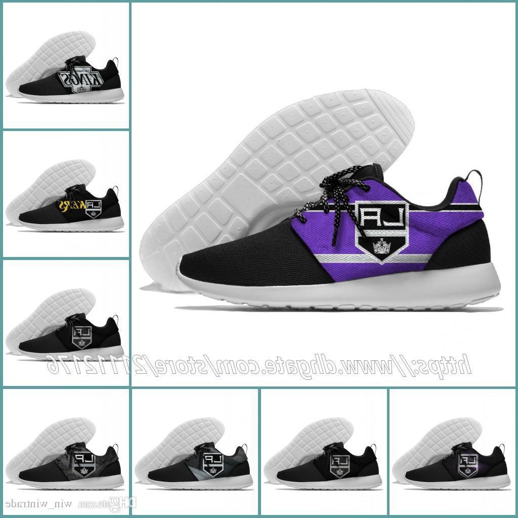 36-45 Mens Womens Los Angeles Kings Designer Lundon Olympic Mesh Lightweight Trainer Nationals Sports Running Shoes Outdoor Sneakers