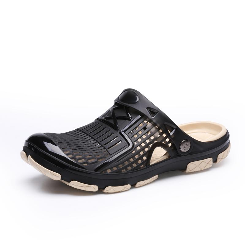 Men Beach Sandals For Summer Red Black Outdoor Sports Sneakers Seaside Beach Surfing Man Shoes Anti-slip Male Walking Sandals Latest Fashion Stress Relief Toy