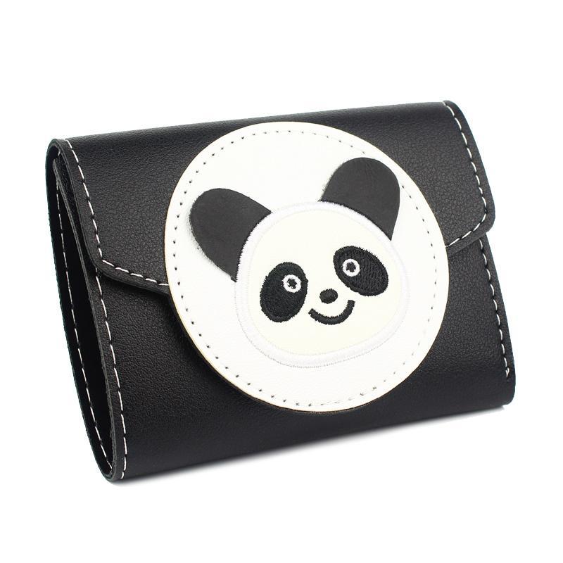 8f9bcd1c4caee5 Acquista Portamonete Portafogli Donna Portamonete Pochette Cartoon Panda  Portafoglio Donna Pieghevole Portamonete Porta Banconote Tasca Notecase  Mini ...
