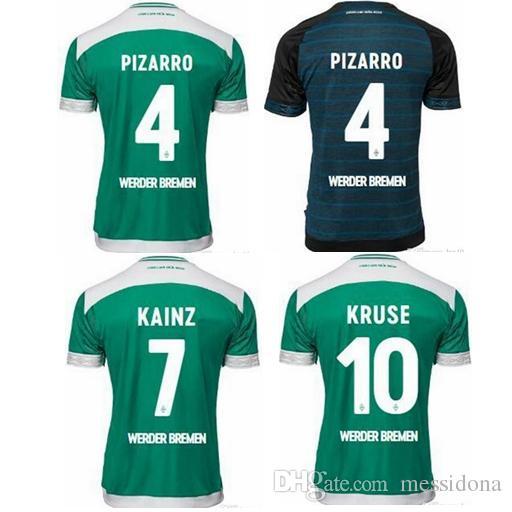 d72c96e2c2 Compre 2018 19 SV Werder Bremen MAILLOT DE PÉ Camisetas Tailândia Futebol  Camisa De Futebol Camisa De Futebol Kit De Camisa Futbol De Messidona