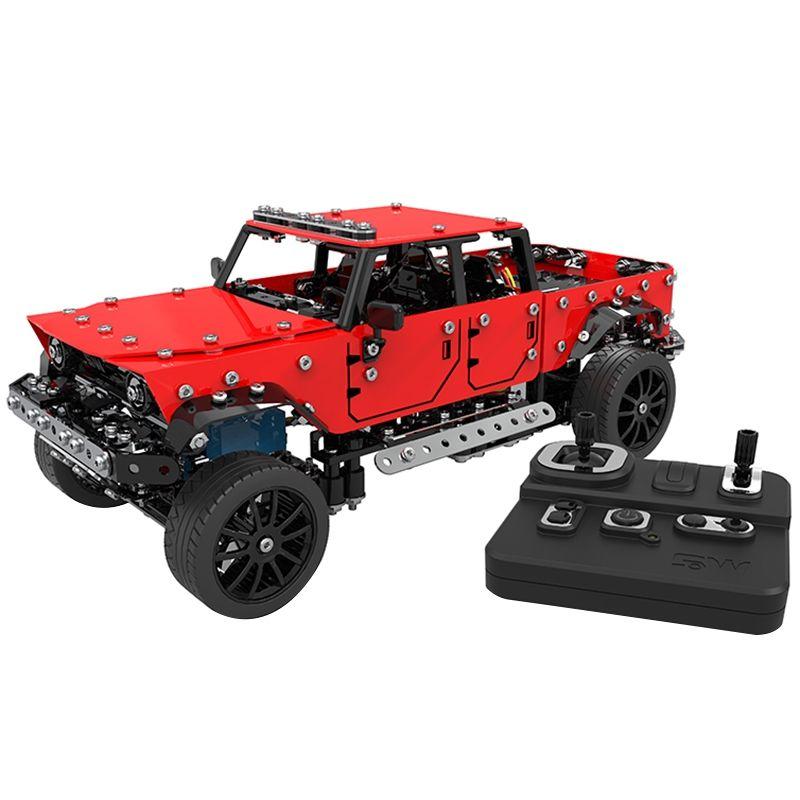 RC Ferngesteuertes Geländewagen Montage Spielzeug mit Fernbedienung Baukästen & Konstruktion Spaß