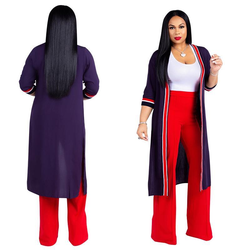 Acquista 2019 Autunno Inverno Tuta Tuta Da Ufficio Moda Donna Sexy Set Coat  + Top + Pant 3 Pezzi Abiti Casual Nightclub Abbigliamento A  21.11 Dal ... 437181a1d9a