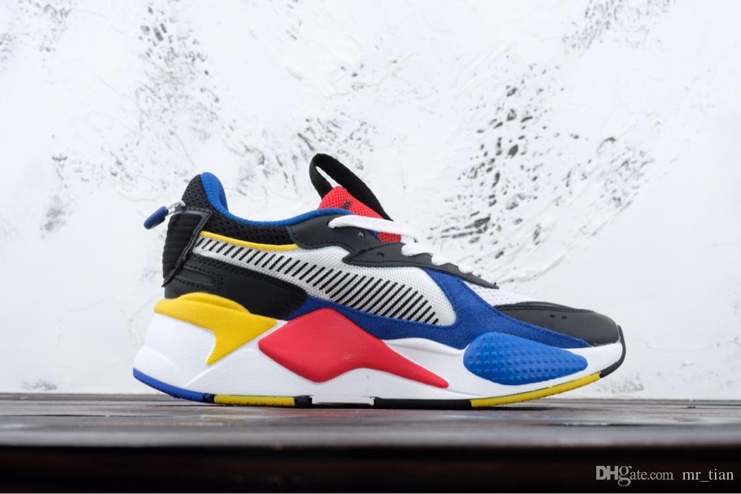 pretty nice 091ca 92257 PUMA 2019 Desiner Sneakerx TRANSFORMADORES RS X Runner Vintage Coconut Zapatos  Para Correr Marea De Los Hombres Zapatillas De Deporte De Marca Calzado ...