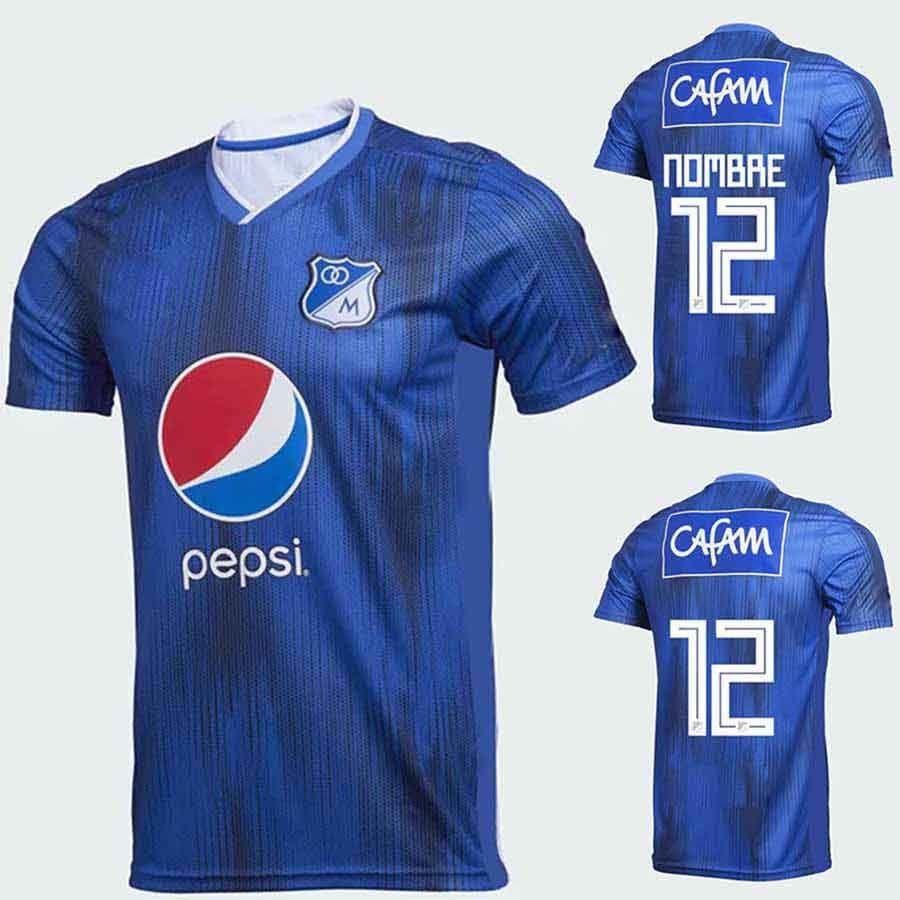 67904f54 CAMISETA DE FÚTBOL MILLONARIOS FC LOCAL 2019 Casa Fútbol Jersey Azul  Camiseta De Fútbol Maillot De Futebol Por Bet_best, $13.38 | Es.Dhgate.Com