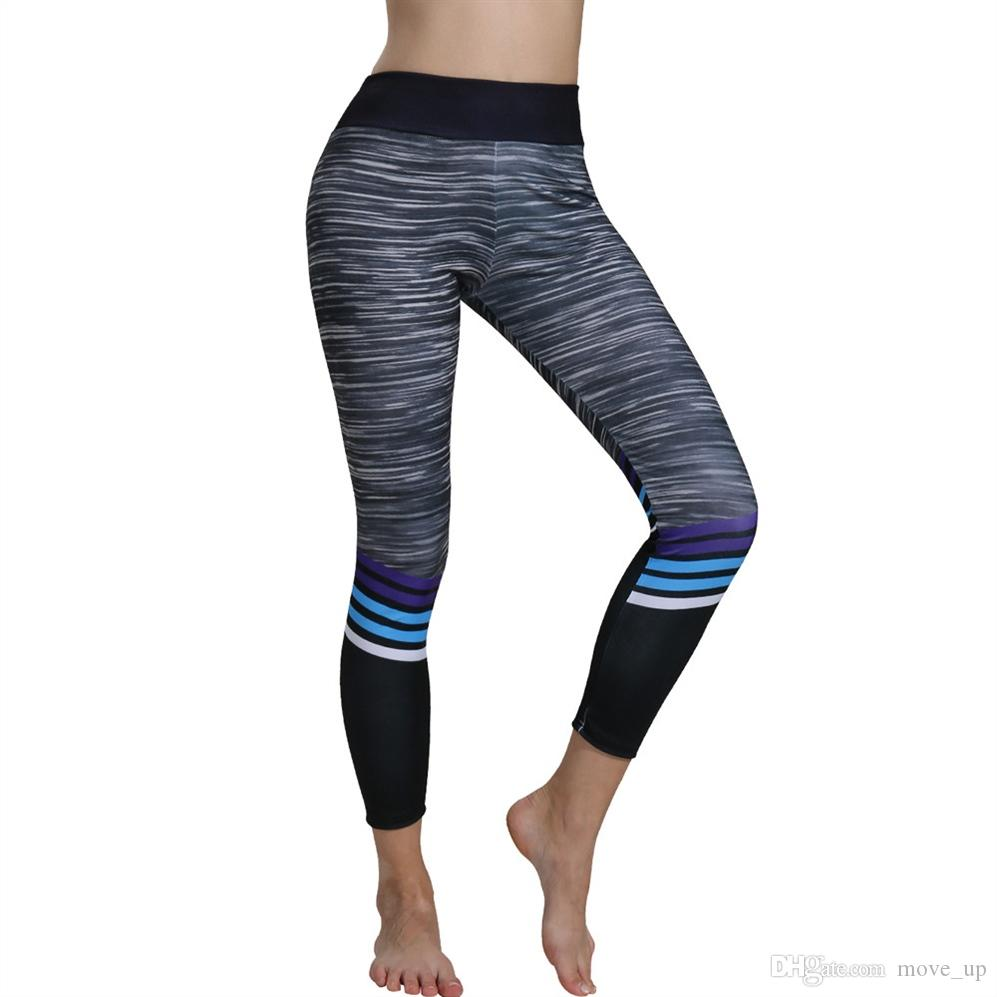 Compre Klv Yoga Pantalones De Mujer Pantalones Deportivos Imprimir Yoga  Leggings Para Fitness Gym Workout Lounge Athletic Ropa Deportiva Mujer Gym    358843 ... 4e13b8a9cbf7