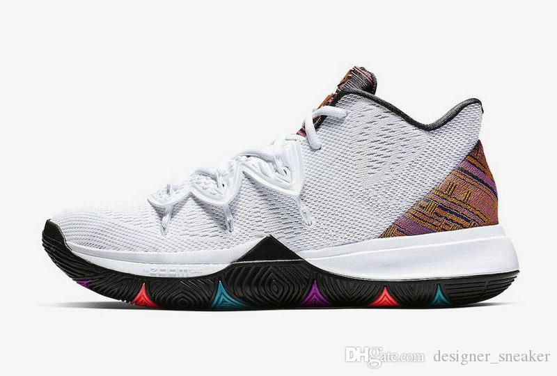 low priced 02227 1213a 5 V Friends Area 72 Ray Gun UFO Duke Oreo BHM ROKIT Basketball Shoes Mens  Concepts 5s PE Little Mountain CNY Ikhet Turbo Kyrie Sneakers NZ 2019 From  ...