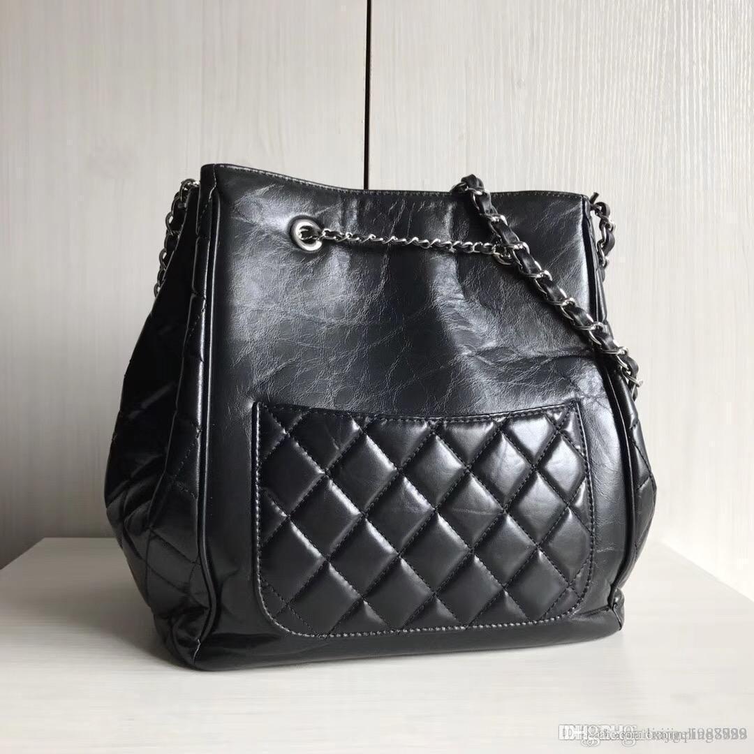1efc196ac536 2018 New Fashion Ladies Crossbody Women Genuine Leather Lambskin Bucket Bag  Handbag Casual Scarf Hand Highest Quality Shoulder Messenger Bag Wholesale  Bags ...