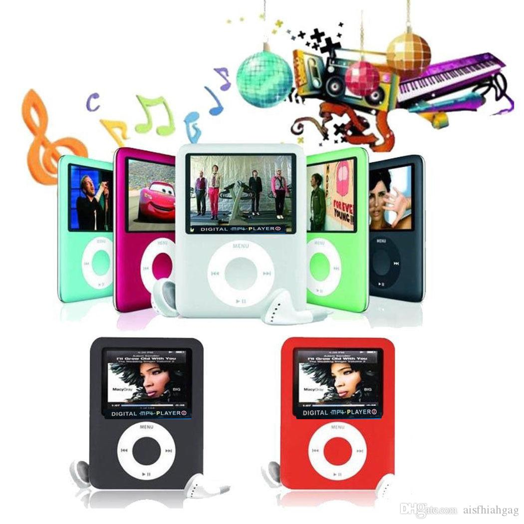 "8-32GB MP3,MP4 4th Generation PLAYER 1.8"" LCD SCREEN."