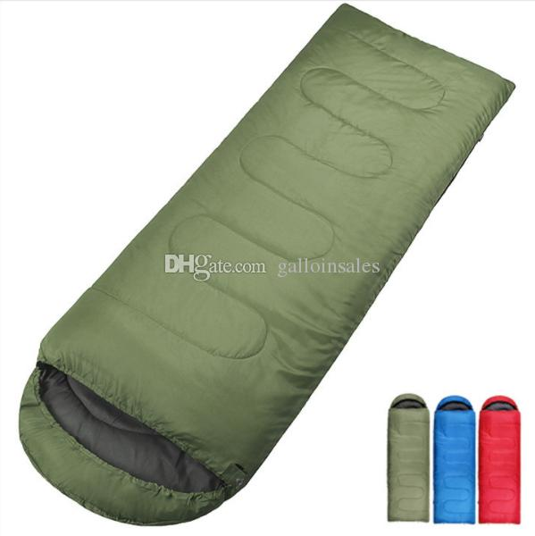 pretty nice 18174 5e5c6 7 colors choose sleeping Bag Envelope Camping Sleeping Bags Blankets for  Hiking Outdoors Activity SB001