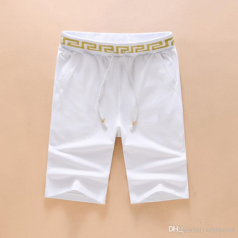 Short Pour Hommes Black and White Men's Casual Shorts Designed By High-end Male Designers Gym Shorts