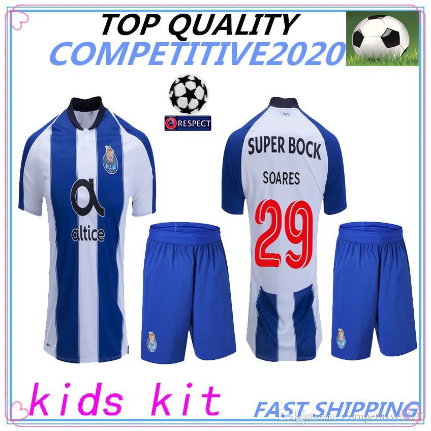 b264fdef4 Kids Kit 18 19 Thailand Fc Porto Soccer Jersey Oliver Marega 2018