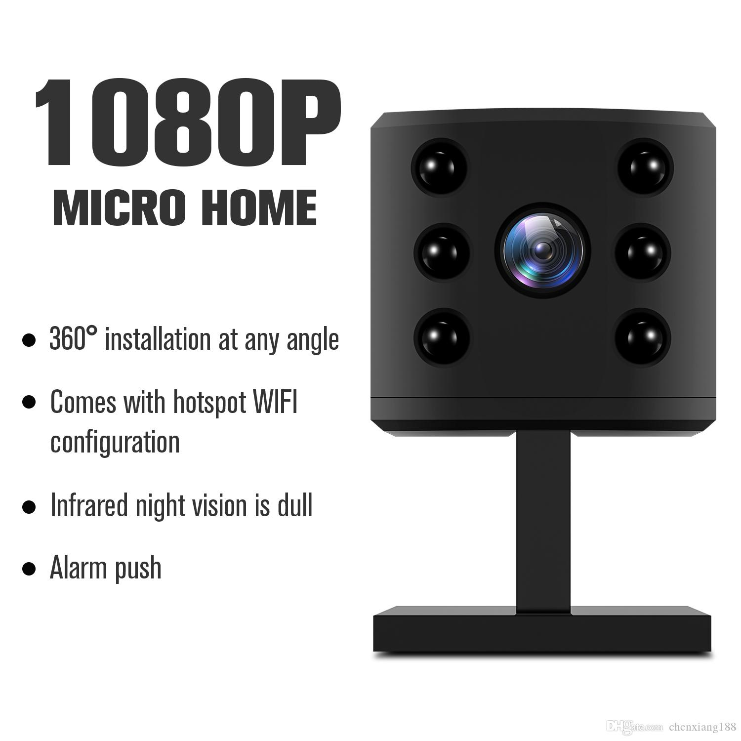 T1 Strong Magnetic WiFi Wireless HD 1080P Mini Camera Motion Detection IP Camera IR Night Version Home Security Video Recorder Mini DV