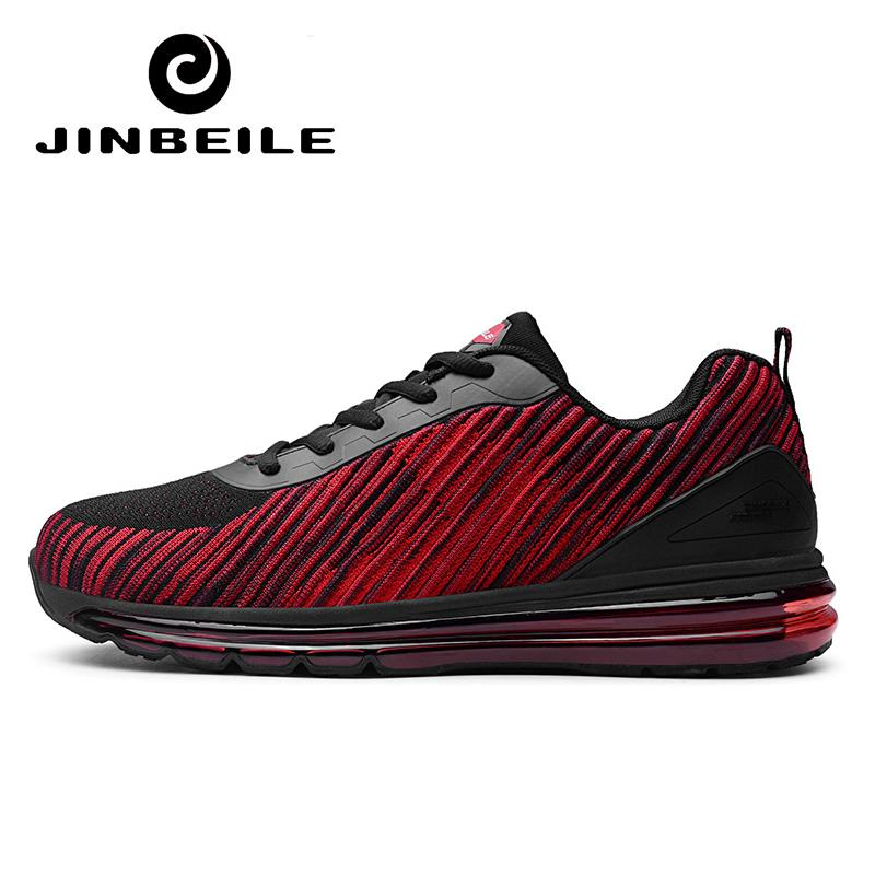 2019 JINBEILE 2018 New Air Running Shoes Men Deaigner Outdoor Jogging Sport  Sneakers Vapor High Quality Air Mesh Training Shoes Sport From Teawugong 393d7e5c153