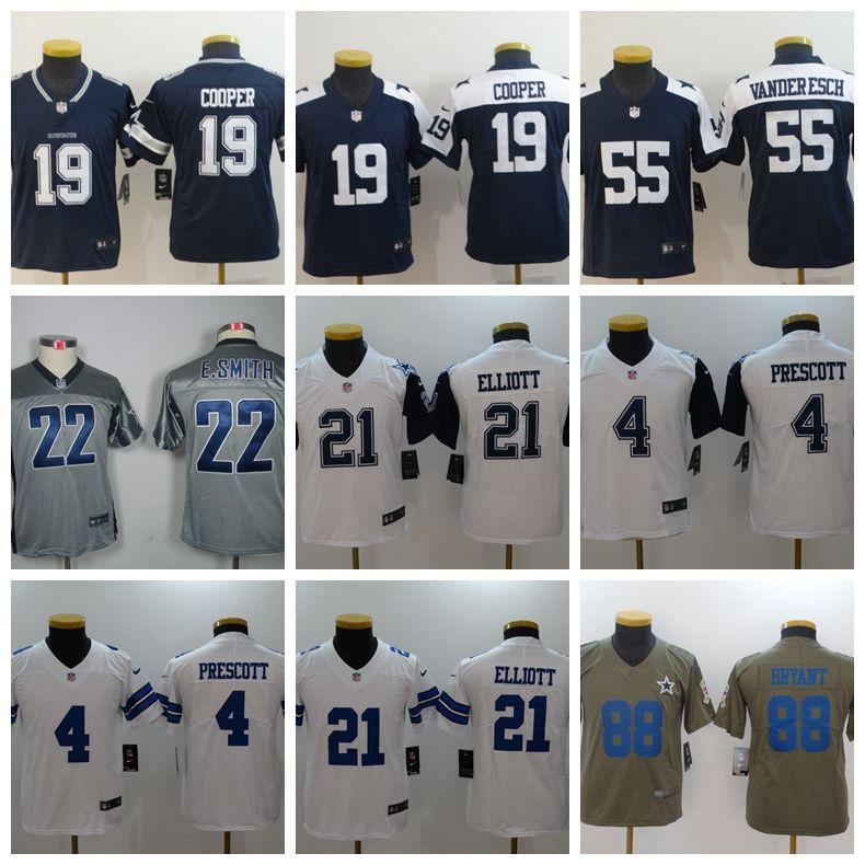 info for d87d0 0ff53 KID Youth Dallas Cowboys 21 Ezekiel Elliott 4 Dak Prescott Jersey  Philadelphia Eagles 11 Carson Wentz Raiders 24 Marshawn Lynch Jerseys