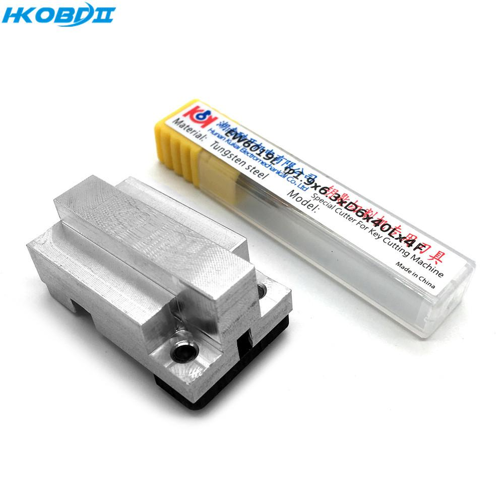 NoEnName_Null New HU162T clamp (need a 1.0mm cutter ) and for SEC-E9 Key Cutting Machine