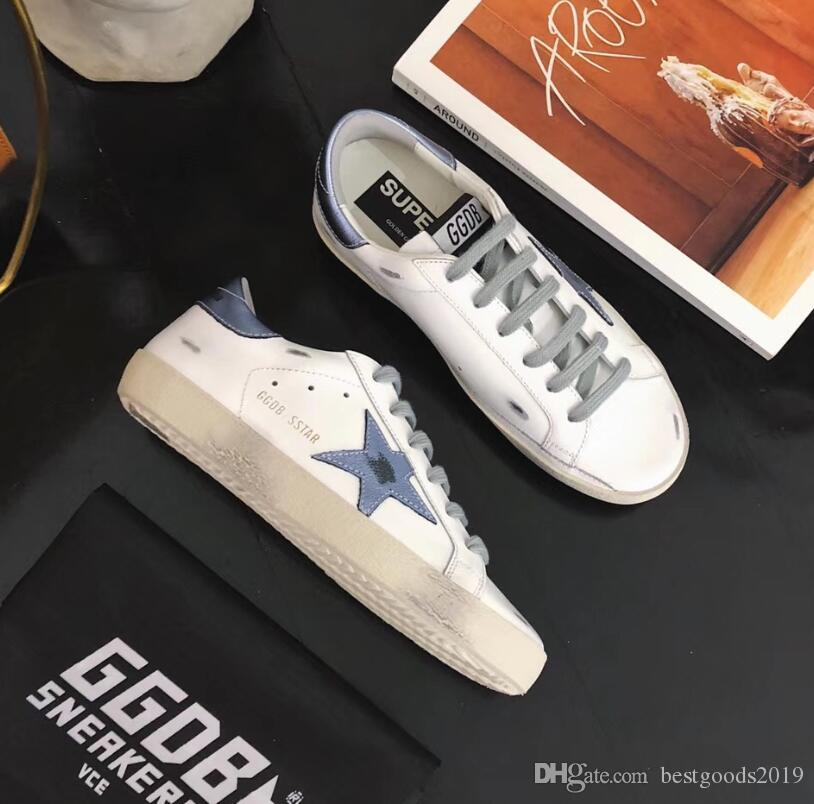 the best attitude d7cf6 7f93f Golden Goose Deluxe Brand GGDB Best Quality Men Womens Old Style Sneakers  Genuine Leather Villous Dermis Shoes Sneakers Boots 96 Canada 2019 From ...