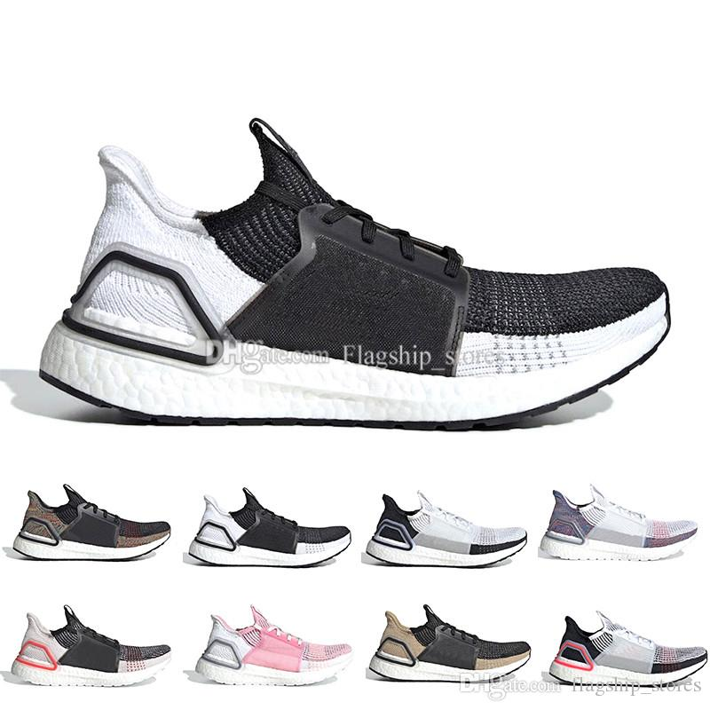 1250f5035d61d Ultra Boost 19 Men Women Running Shoes Ultraboost Laser Red Dark ...