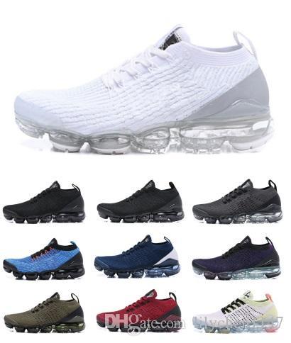 bc22b64e61cc67 Air Mens Running Shoes 2019 Men Casual Air Cushion Triangle Triple ...