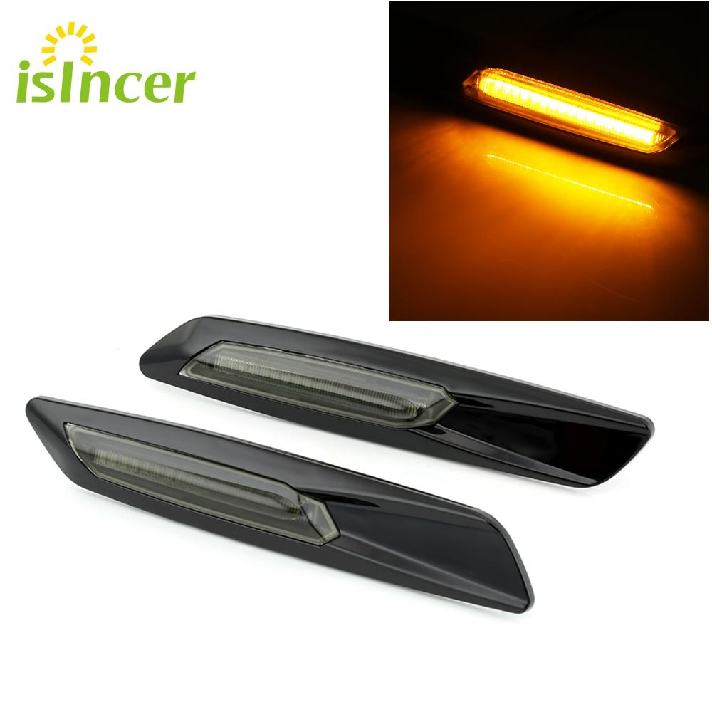 2019 Led Turn Signals Side Marker Lights Amber Light Black Trim Led