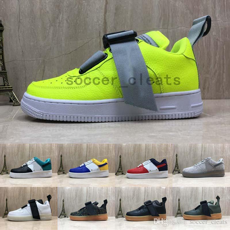 innovative design 7ada1 35a84 2019 Chaussures 07 Lv8 Utilidad QS Premium Id Uno Corriendo Skateboard Zapatos  Para Mujeres De Las Fuerzas De Aire Mens Entrenadores Sports 1 Zapatillas  De ...