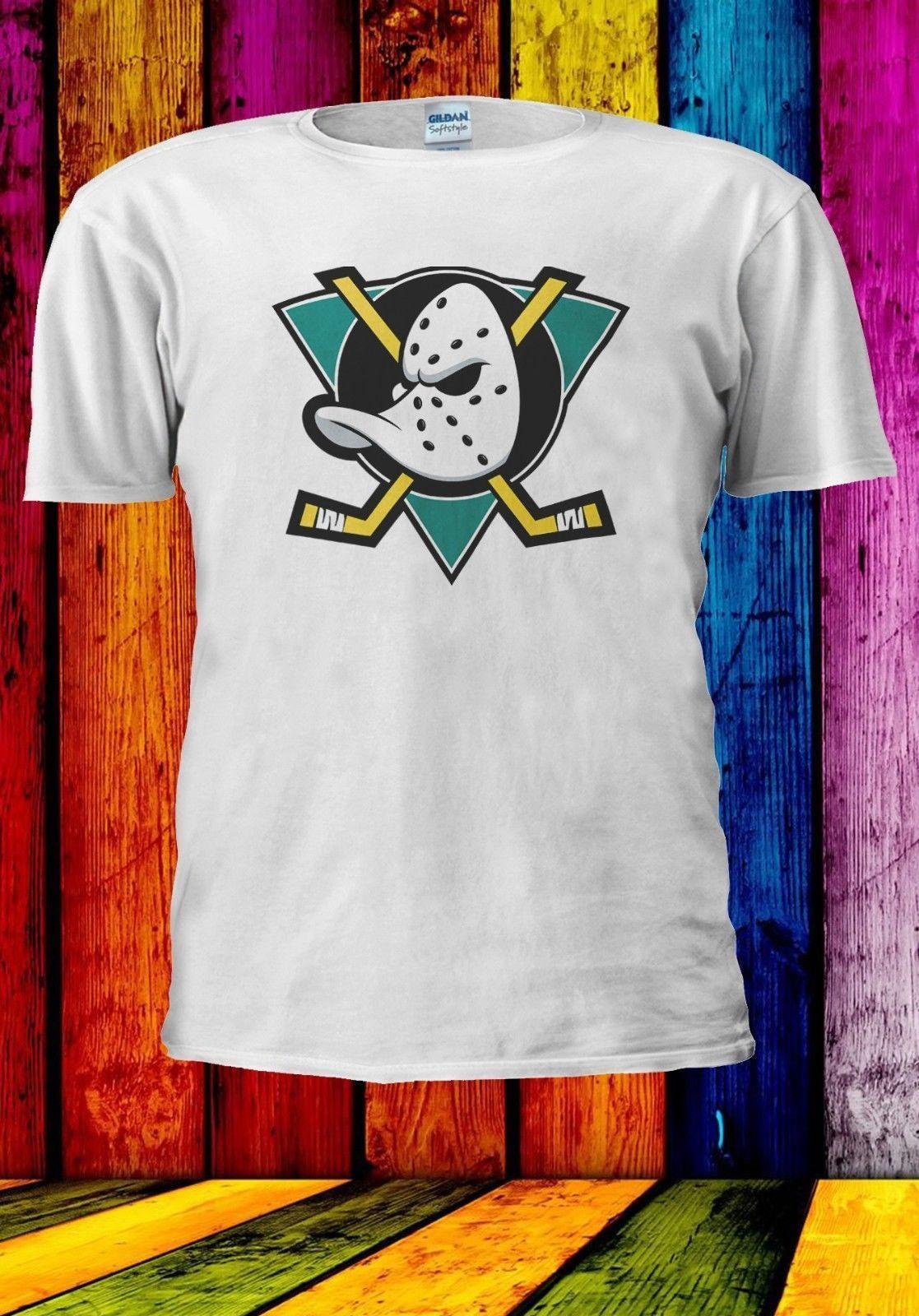 MIGHTY DUCKS NHL HOCKEY Hombres Mujeres Unisex Camiseta Chaleco Top Béisbol Hoodie 954