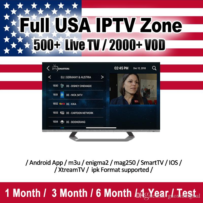 IPTV Subscription Abonnement iptv channel Spain Italy Portugal Arabic  France USA Latino iptv code for android box smart tv goophone iphone x