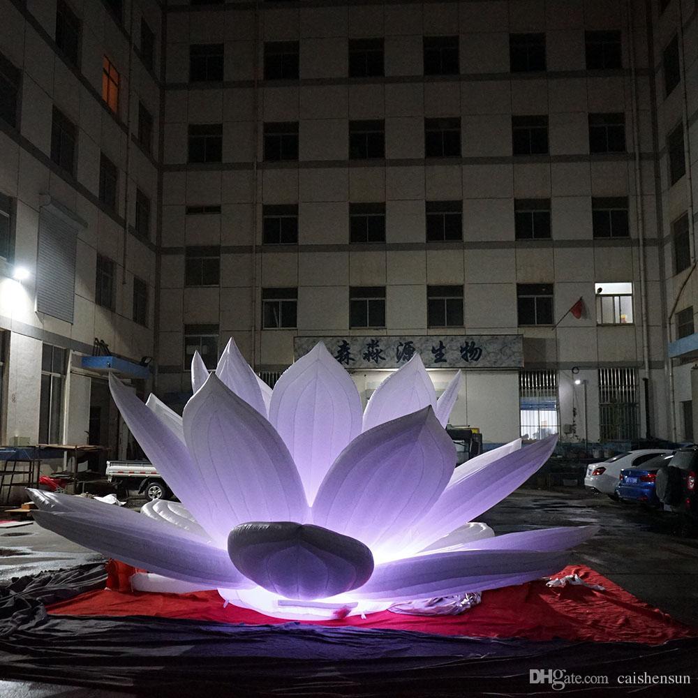 2019 Giant Inflatable Lotus Flower Decoration Giant Wedding