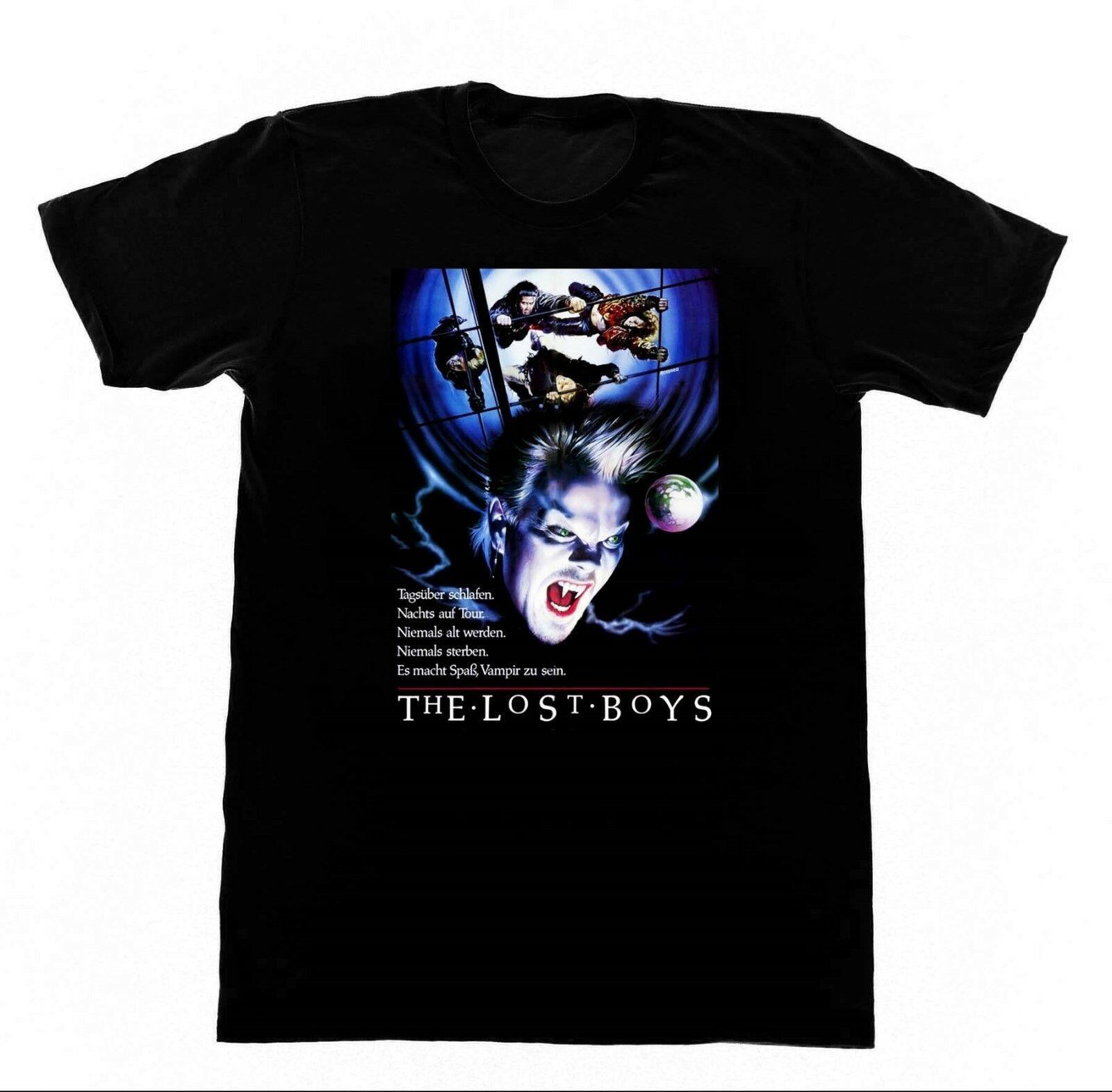 The Lost Boys T-Shirt TEDESCO IMPORT 200 T-Shirt Cult Film Vampiro Dracula GothFunny spedizione gratuita Unisex Casual top