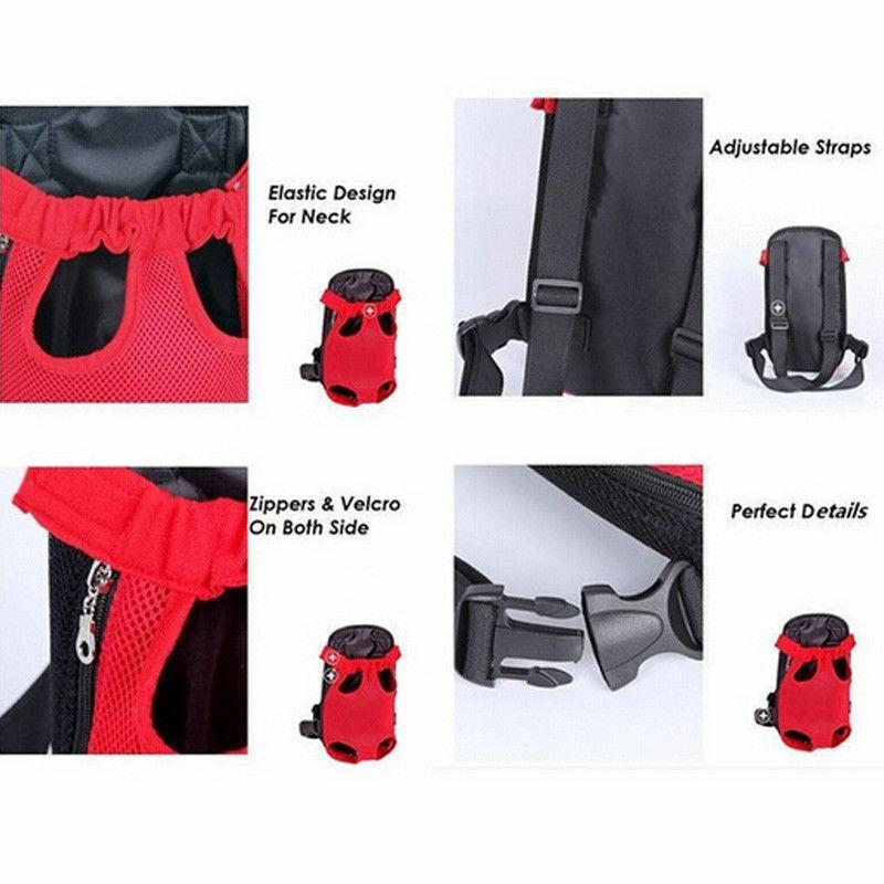 Новая мода дышащая сетка собаки Грудь 3size количество заготовленных в течение сезона консервов собак Pet Перевозчики рюкзаки Cat Puppy Pet Front плеча Sling сумка для переноски