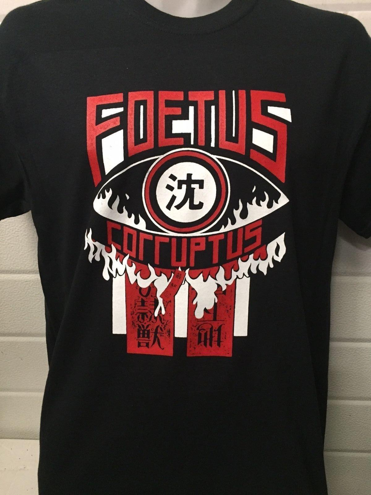 FOETUS CORRUPTUS TSHIRT Lydia Lunch Birthday Party Cd Poster Vinyl ALL SIZES Funny Unisex Casual Top Online T Shirt Buy Joke From Countrysidelocks