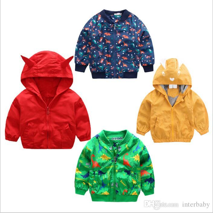 72b5bac26a28 Baby Clothes Coat Boys Ski Wear Winter Jacket Print Outerwear ...
